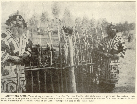 Ainu at 1904 St. Louis World's Fair