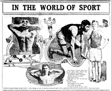 Jim Thorpe's Physique