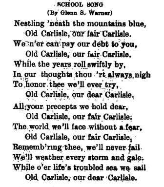 carlisle-school-song
