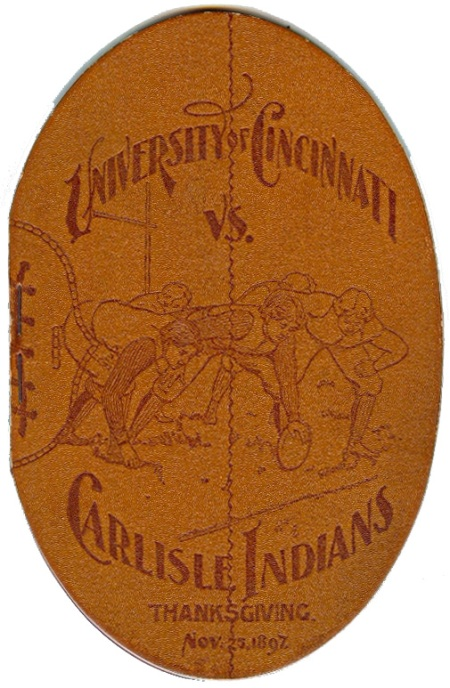 1897 Cincinnati-Carlisle program