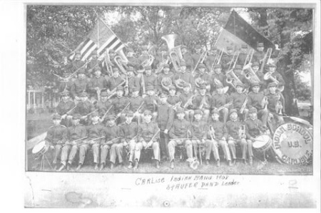 carlisle band 1908