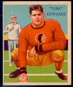 Turk Edwards national chicle card