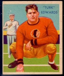 Turk Edwards national chicle card