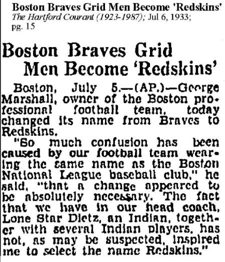 1933-07-06 Redskins Hartford Courant