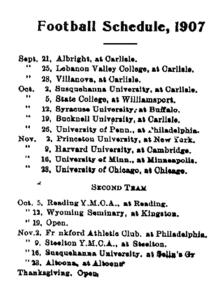 September 21 1907 schedule
