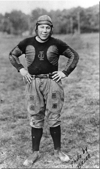 Sherman Pierce in Oorang uniform